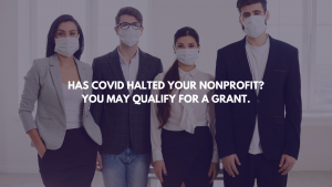 Grant Writing Expertise for Non-profits Impacted by COVID-19